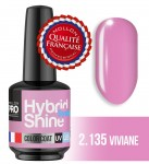 Lakier hybrydowy Hybrid Shine System - Color UV/LED - 2/135 VIVIANE