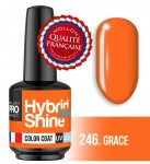 Lakier hybrydowy Hybrid Shine System - Color UV/LED - 246 Grace