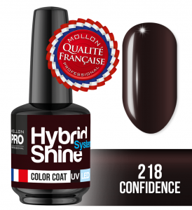 Lakier hybrydowy Hybrid Shine System - Color UV/LED - 218 Confidence