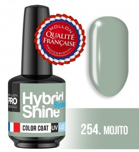 Lakier hybrydowy Hybrid Shine System - Color UV/LED - 254 Mojito