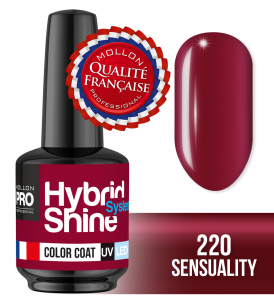 Lakier hybrydowy Hybrid Shine System - Color UV/LED - 220 Sensuality