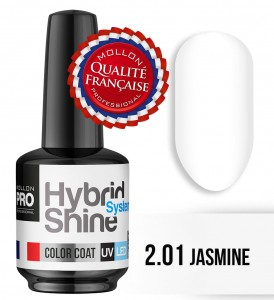 Lakier hybrydowy Hybrid Shine System - Color UV/LED - 2/01 JASMINE