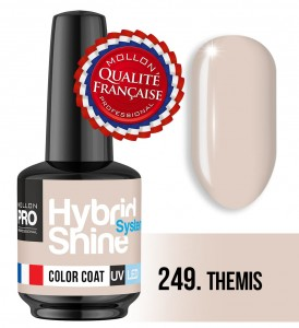 Lakier hybrydowy Hybrid Shine System - Color UV/LED - 249 Themis