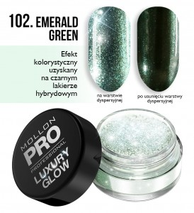 Luxury Glow 102 EMERALD GREEN - Mollon PRO