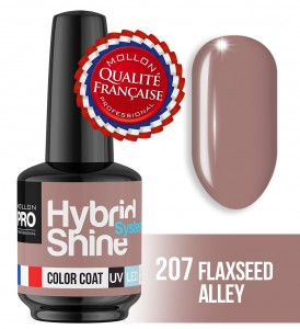 Lakier hybrydowy Hybrid Shine System - Color UV/LED - 207 FLAXSEED ALLEY