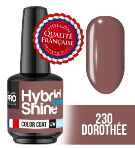 Lakier hybrydowy Hybrid Shine System - Color UV/LED - 230 Dorothée