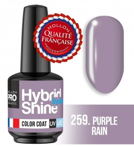 Lakier hybrydowy Hybrid Shine System - Color UV/LED - 259 Purple Rain