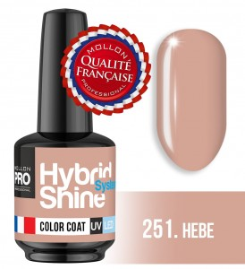 Lakier hybrydowy Hybrid Shine System - Color UV/LED - 251 Hebe