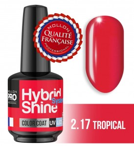 Lakier hybrydowy Hybrid Shine System - Color UV/LED - 2/17 TROPICAL