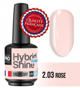 Lakier hybrydowy Hybrid Shine System - Color UV/LED - 2/03 ROSE