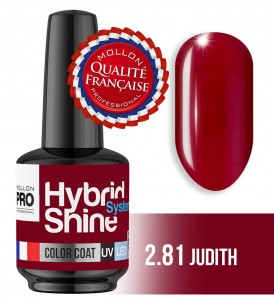 Lakier hybrydowy Hybrid Shine System - Color UV/LED - 2/81 JUDITH