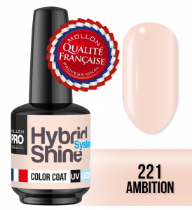 Lakier hybrydowy Hybrid Shine System - Color UV/LED - 221 Ambition