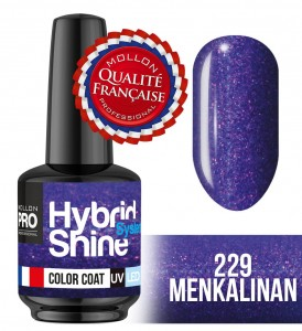 Lakier hybrydowy Hybrid Shine System - Color UV/LED - 229 Menkalinan