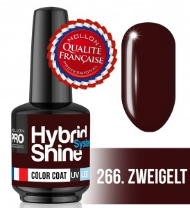 Lakier hybrydowy Hybrid Shine System - Color UV/LED - 266 Zweigelt