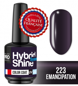 Lakier hybrydowy Hybrid Shine System - Color UV/LED - 223 Emancipation