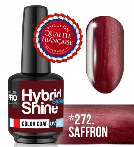 Lakier hybrydowy Hybrid Shine System - Color UV/LED - 272 Saffron
