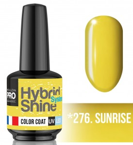 Lakier hybrydowy Hybrid Shine System - Color UV/LED - 276. SUNRISE