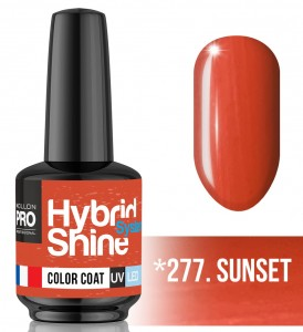 Lakier hybrydowy Hybrid Shine System - Color UV/LED - 277. SUNSET