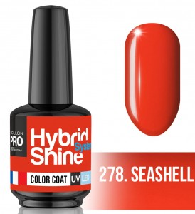 Lakier hybrydowy Hybrid Shine System - Color UV/LED - 278. SEASHELL