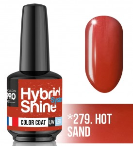 Lakier hybrydowy Hybrid Shine System - Color UV/LED - 279. HOT SAND
