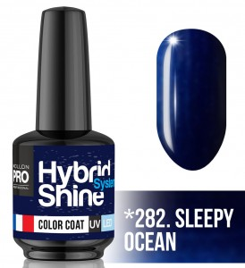 Lakier hybrydowy Hybrid Shine System - Color UV/LED - 282. SLEEPY OCEAN