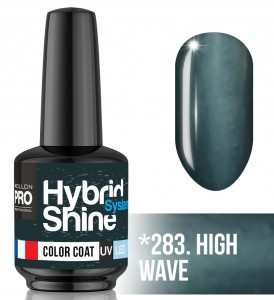 Lakier hybrydowy Hybrid Shine System - Color UV/LED - 283. HIGH WAVE