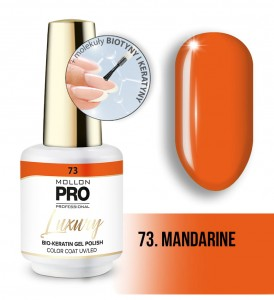 73. MANDARINE LUXURY GEL POLISH COLOR COAT - HYBRYDA ŻELOWA UV/LED Mollon PRO 8ml