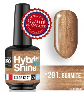 Lakier hybrydowy Hybrid Shine System - Color UV/LED - 291 Burmite