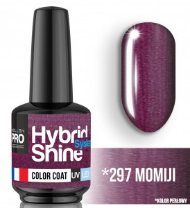 Lakier hybrydowy Hybrid Shine System - Color UV/LED - 297 Momiji