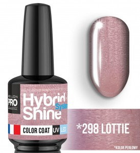 Lakier hybrydowy Hybrid Shine System - Color UV/LED - 298 Lottie