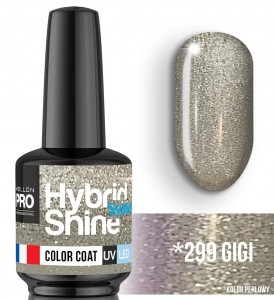 Lakier hybrydowy Hybrid Shine System - Color UV/LED - 299 Gigi