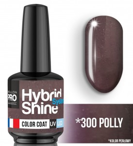Lakier hybrydowy Hybrid Shine System - Color UV/LED - 300 Polly