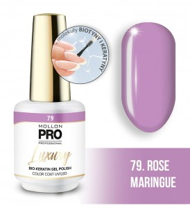 79. ROSE MARINGUE LUXURY GEL POLISH COLOR COAT - HYBRYDA ŻELOWA UV/LED Mollon PRO 8ml
