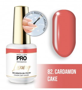 82. CARDAMON CAKE LUXURY GEL POLISH COLOR COAT - HYBRYDA ŻELOWA UV/LED Mollon PRO 8ml