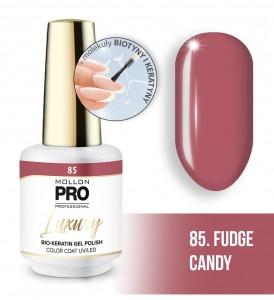 85. FUDGE CANDY LUXURY GEL POLISH COLOR COAT - HYBRYDA ŻELOWA UV/LED Mollon PRO 8ml
