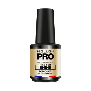 JESIEŃ - MASTER SHINE TOP COAT NO WIPE 12ml - Mollon PRO