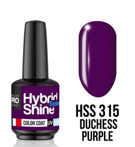 315. Duchess Purple - Lakier hybrydowy Hybrid Shine System - Color UV/LED - Mollon PRO