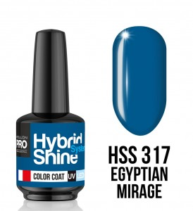 317. Egyptian Mirage - Lakier hybrydowy Hybrid Shine System - Color UV/LED - Mollon PRO