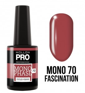 70. Fascination - Lakier jednofazowy Monophase UV/LED Vernis - Mollon PRO