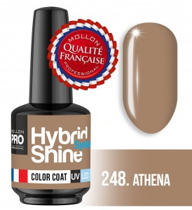 Lakier hybrydowy Hybrid Shine System - Color UV/LED - 248 Athena