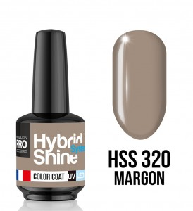 320. Margon - Lakier hybrydowy Hybrid Shine System - Color UV/LED - Mollon PRO