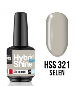 321. Selen - Lakier hybrydowy Hybrid Shine System - Color UV/LED - Mollon PRO