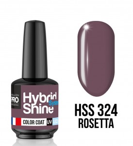 324. Rosetta - Lakier hybrydowy Hybrid Shine System - Color UV/LED - Mollon PRO
