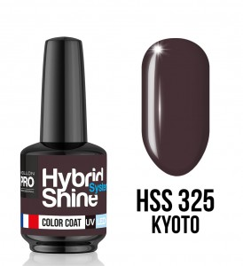 325. Kyoto - Lakier hybrydowy Hybrid Shine System - Color UV/LED - Mollon PRO