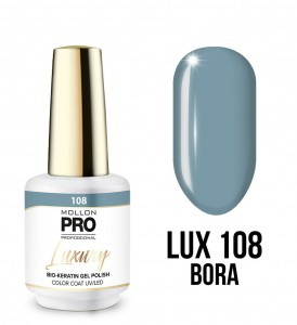 108. BORA GEL POLISH COLOR COAT - HYBRYDA ŻELOWA UV/LED Mollon PRO 8ml