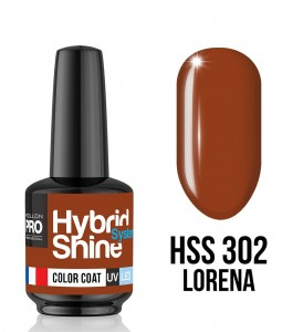 Lakier hybrydowy Hybrid Shine System - Color UV/LED - 302 Lorena