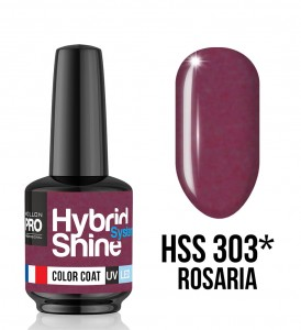 Lakier hybrydowy Hybrid Shine System - Color UV/LED - 303 Rosaria