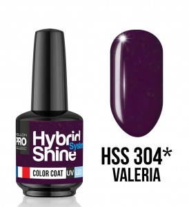 Lakier hybrydowy Hybrid Shine System - Color UV/LED - 304 Valeria