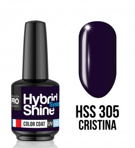 Lakier hybrydowy Hybrid Shine System - Color UV/LED - 305 Cristina