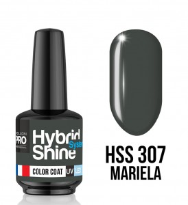 Lakier hybrydowy Hybrid Shine System - Color UV/LED - 307 Mariela